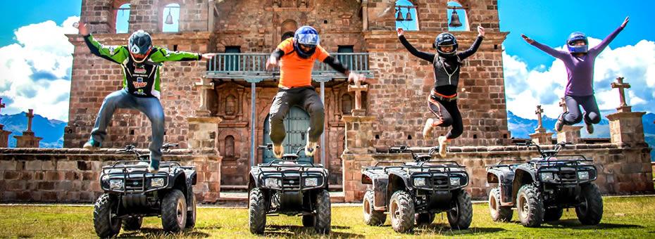Cuatri Moto a Maras y Moray 4hrs